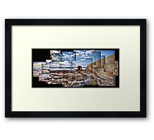 Newcastle Pump House Framed Print