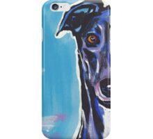 Greyhound Dog Bright colorful pop dog art iPhone Case/Skin