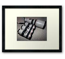 We like Canon, alot. Framed Print