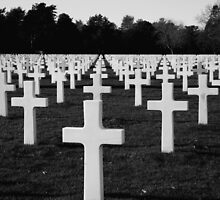 American Cemetery by hahahahaleigh