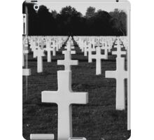 American Cemetery iPad Case/Skin
