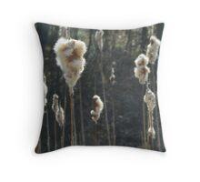 Cat O' Nine Tails Field Throw Pillow