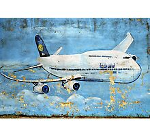 Jumbo jet, Indian Air Force Weathered Photographic Print