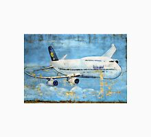 Jumbo jet, Indian Air Force Weathered Unisex T-Shirt