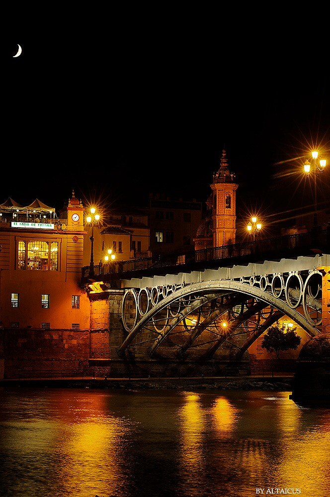 Triana´s Bridge by Daniel Rosselló