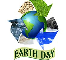 Earth Day 1 Photographic Print