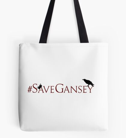 #SaveGansey Tote Bag