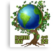 Earth Day 2 Canvas Print