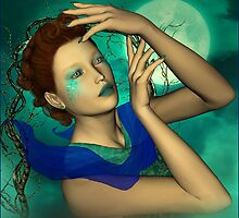Nimiane - Lady of the Lake by janrique