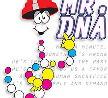 The real Mr.DNA by rothsauce