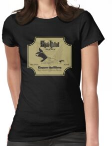 Conquer the Worm Womens Fitted T-Shirt
