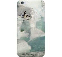 Adelie Procession #2 iPhone Case/Skin
