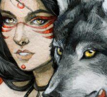 - Wolf Moon - Sticker
