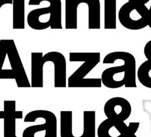 Apple Digs Infinite Loop & Tantau Ave Ampersand Helvetica Getup Sticker
