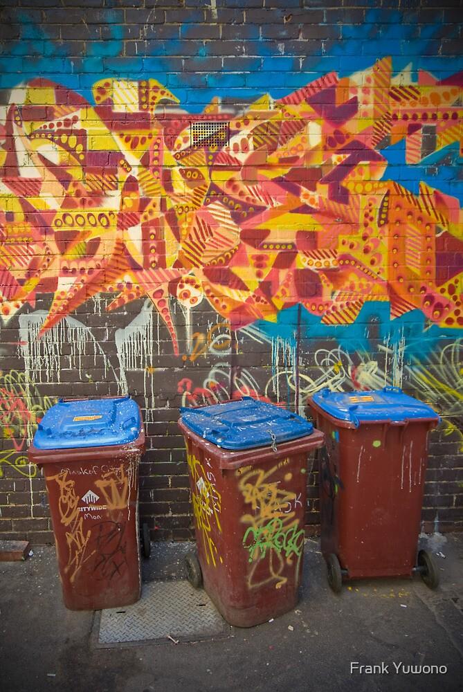 Croft Alley Bins by Frank Yuwono