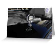 '80 Cadillac Greeting Card