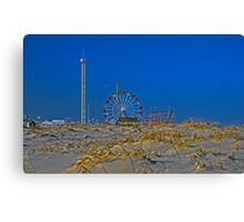 Fun is Just Past the Dunes! Canvas Print