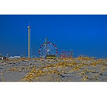 Fun is Just Past the Dunes! Photographic Print