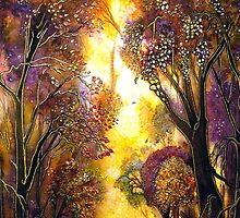 Colour of Trees by Linda Callaghan