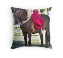I LOVE MY HORSE Throw Pillow