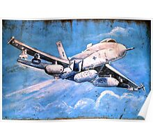 Crusty Fighter Bomber - Laptop Cover Poster