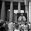 Pope in Vatican by aleksandra15