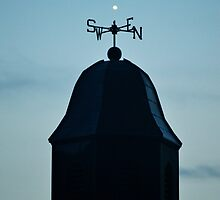 Venus Above A Weather Vane   Smith Point, New York by © Sophie W. Smith