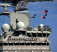 """""""The Island"""" U.S.S. Harry S. Truman CVN75 by jwhimages"""