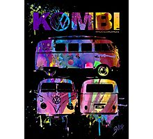 Volkswagen Kombi 3 Way (bright) © Photographic Print