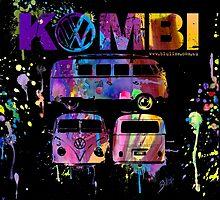 Volkswagen Kombi 3 Way (bright) © by BlulimeMerch