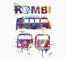 Volkswagen Kombi 3 Way (bright) © Baby Tee
