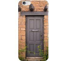 Private Door iPhone Case/Skin