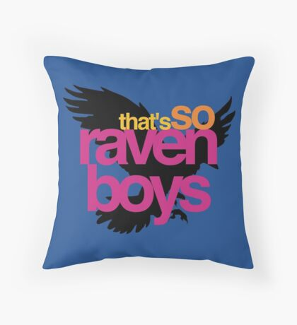 That's So Raven Boys Throw Pillow