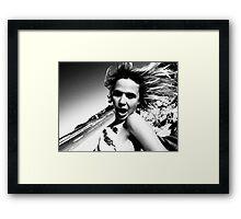tina 1 Framed Print