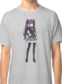 Hyperdimension Neptunia Re;Birth - Noire - Black Heart Classic T-Shirt