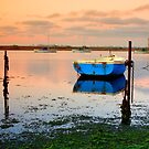 Anchored Boats by RichardIsik
