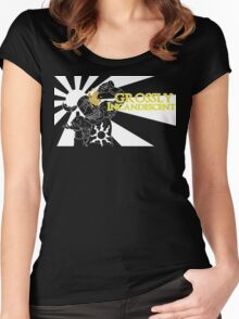 Grossly Incandescent Women's Fitted Scoop T-Shirt