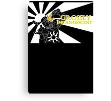 Grossly Incandescent Canvas Print