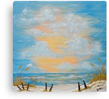 """""""Serenity in Blue"""" Canvas Print"""