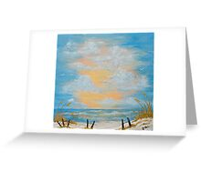 """Serenity in Blue"" Greeting Card"