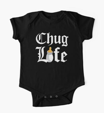 Chug Life Black One Piece - Short Sleeve