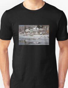 Icy Snowy Winter Wonderland Unisex T-Shirt