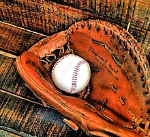 Ball and Glove by Jimmy Ostgard