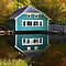 Mill Pond Lyman, Maine in Autumn 2009 by MaryinMaine