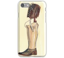 Vintage Prosthetic Leg iPhone Case/Skin