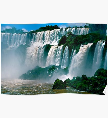 Las Cataratas de Iguazu Poster