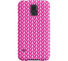 Chevrons Knit Style Samsung Galaxy Case/Skin