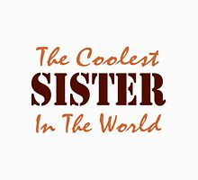 The Coolest Sister Womens Fitted T-Shirt