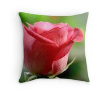 a pink promise Throw Pillow
