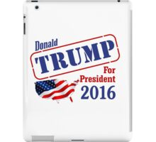 Donald Trump for president 2016 Election iPad Case/Skin